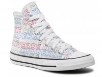 Мужские кеды Converse Chuck Tailor All Star Wordmark Print Hi 170107C