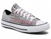 Мужские кеды Converse Chuck Tailor All Star Wordmark Print low 170109C