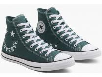 Мужские кеды Converse Chuck Taylor All Star Hi Faded Spruce 167068C