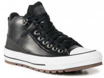 Чоловічі кеди Converse Chuck Taylor Leather Black Mid 168865C