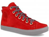 Мужские кеды Forester NanoLight Red Suede 132125-471
