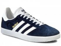 Мужские кроссовки Adidas Originals Gazelle BB5478   (тёмно-синий)