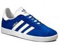 Мужские кроссовки Adidas Originals Gazelle S76227   (синий)