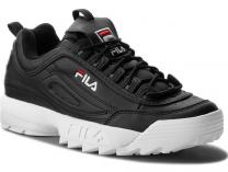 Мужские кроссовки Fila Disruptor Low 1010262 25Y Black White