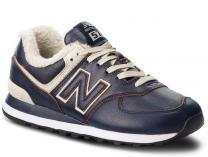 Mens sneakers New Balance ML574WNF with fur