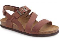 Мужские сандалии Las Espadrillas 06-0187-002   (коричневый)