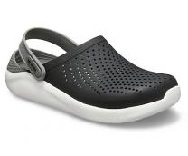 Мужские сандалии Crocs Literide Clog Black/Smoke 204592-05M