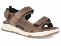 Mens sandals Forester Allroad 5201-4 Removable insole