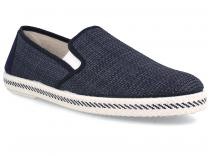 Мужские слипоны Las Espadrillas Marino FV6338-89 Made in Spain