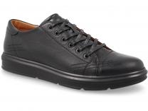 Мужские туфли Forester 671-27 (чёрный)