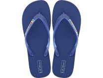Men's flip flops Las Espadrillas 7223-89 Made in Italy (blue)