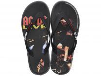 Men's flip-flops Rider AC/DC Bands Thong Ad 82799-21191