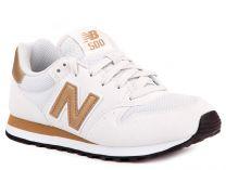 Женские кроссовки New Balance GW500WG (золотистий/белый)