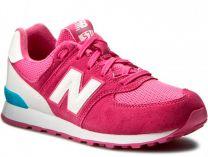 Кроссовки New Balance KL574CZG  (розовый)