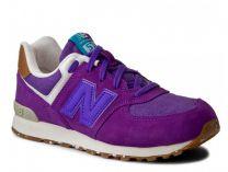 Женские кроссовки New Balance KL574EUG (фиолетовый)