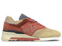 Мужские кроссовки New Balance M997st   (бежевый)