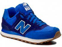 Мужская кроссовки New Balance ML574SEC   (синий)