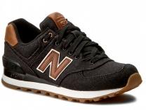 Кроссовки New Balance ML574TXA унисекс   (коричневый/чёрный)