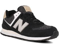 Mens sneakers New Balance ML574VAI (Black)