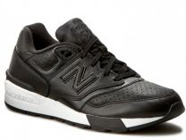Мужские кроссовки New Balance Ml597bll   (чёрный)
