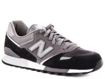 Sneakers New Balance U446LGK unisex (Dark grey,Black,Grey)