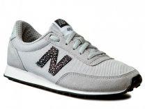 Текстильная обувь New Balance WL410BU унисекс   (серый)