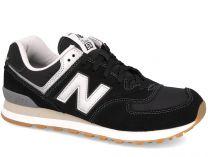 Мужские кроссовки обувь New Balance WL574HRM   (чёрный)