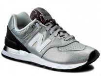 Кроссовки New Balance WL574RAC   (серебряный)