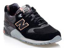 Кроссовки New Balance WL999TA  (тёмно-серый/чёрный/серый)