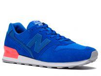 Женские кроссовки New Balance WR996SL  (голубой/красный/синий)