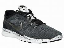 Кроссовки Nike Free TR 5 Print 704695-019 унисекс   (чёрный/серый)