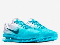 Кросівки Nike AIR MAX 2017 849560-403 унісекс (Блакитний,Білий)