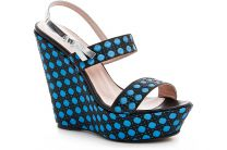 Wedge Nine West 2010-2105-40 (blue/black)