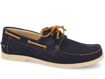 Men's boat shoes 4014-89 Forester (dark blue)