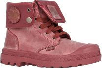 Детские ботинки Palladium 53454-640   (бордовый)