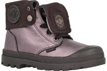 Ботинки Palladium 53456-063 унисекс   (тёмно-серый/чёрный)