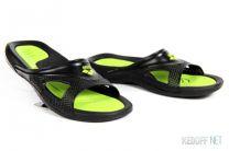 Пляжная обувь Другие бренды 80706-56 унисекс   (зеленый/чёрный)