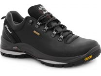 Men's shoes low boots Grisport Vibram 13507D6G Made in Italy (black)