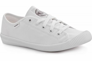 Loe sneakers Palladium Flex Lace White Monochrome 93155-170