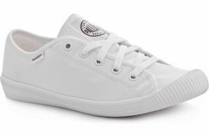 Loe sneakers Palladium Flex Lace White Monochrome 93155-170