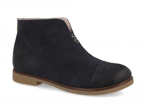 Winter boots Forester Tommy Low 3261-89 Dark blue Nubuck