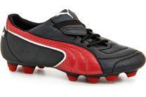 Бутсы Puma 100887-09 унисекс   (чёрный/красный)