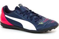 Кроссовки Puma Evo Power 4.2 TT 103223 01 (тёмно-синий/красный)