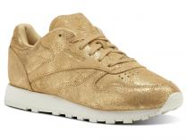 Кроссовки Reebok Classic Leather Shimmer Gold CN0574