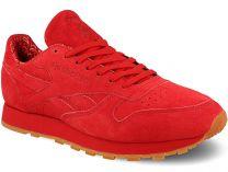 Мужские кроссовки Reebok Classic Leather Bd3231   (красный)