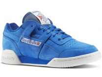 Мужская спортивная обувь Reebok Workout Plus Vintage Bd3382   (голубой)