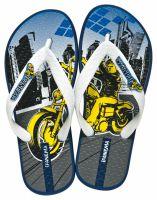 Детская обувь Rider 80633-20247 унисекс   (синий/белый)