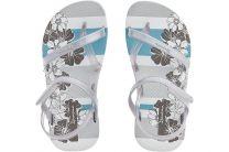 Пляжная обувь Ipanema 81497-20932 унисекс   (серый/белый)