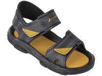 Сандалии Rider 81693-21215 унисекс   (жёлтый/серый)