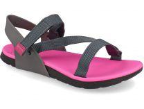Босоножки Rider 82136-24415 унисекс   (розовый/фиолетовый/чёрный/серый)